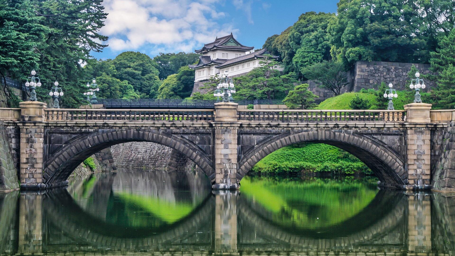 japonia pałac cesarski